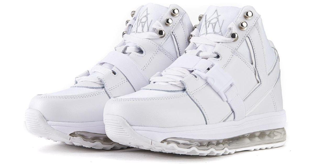 Women: Qozmo Aiire White Sneakers - Lyst