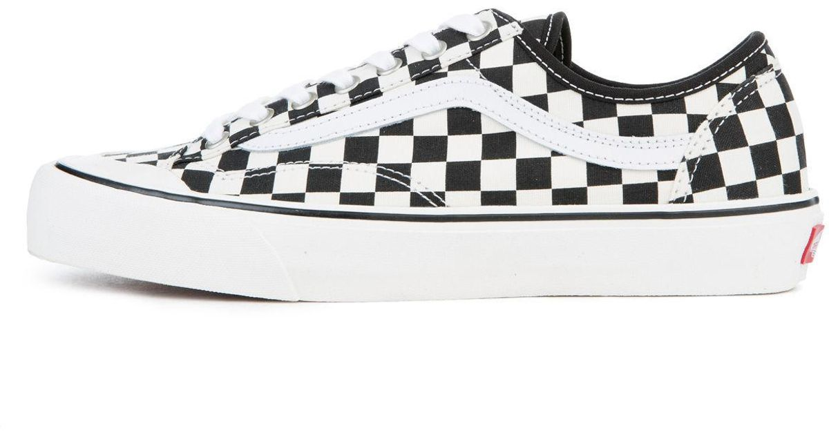 82be654867 Lyst - Vans The Men s Style 36 Decon Sf Checkerboard In Black And White in  White for Men