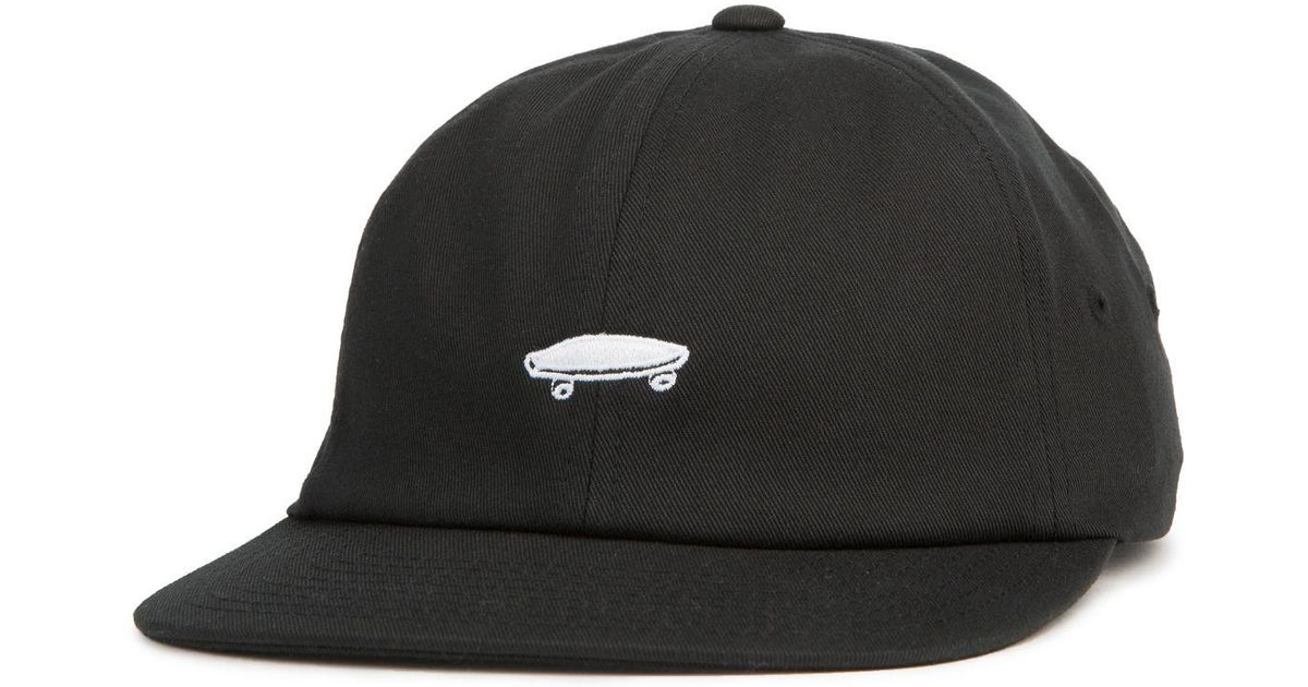 f0a8f5cc Lyst - Vans The Salton Ll Dad Hat In Black And White in Black for Men