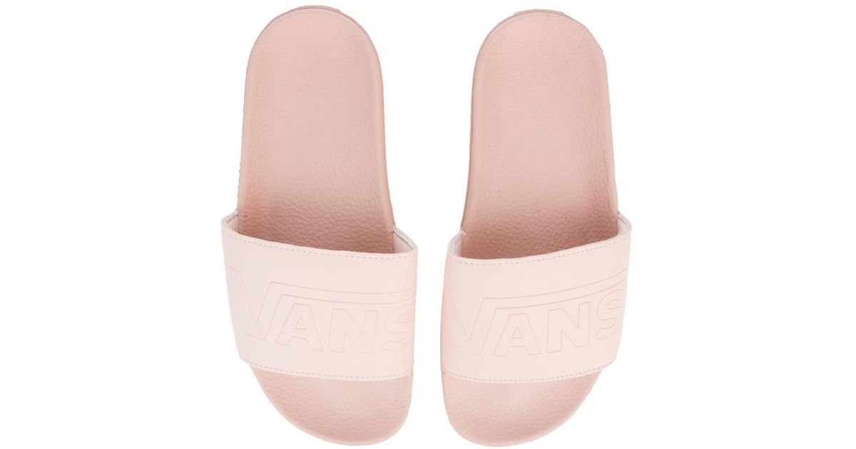 Slide-on In Evening Sand in Pink