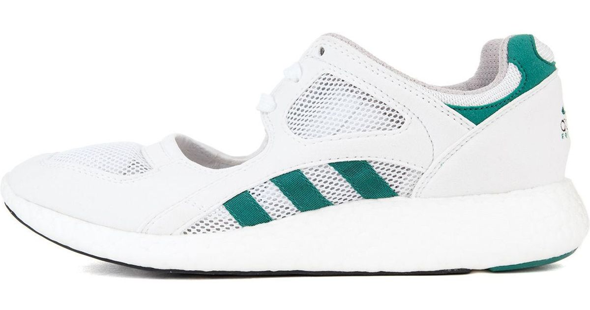 new style 96172 ab08c Lyst - Adidas The Equipment Racing 9116 Sneaker In White Green And Black  in White