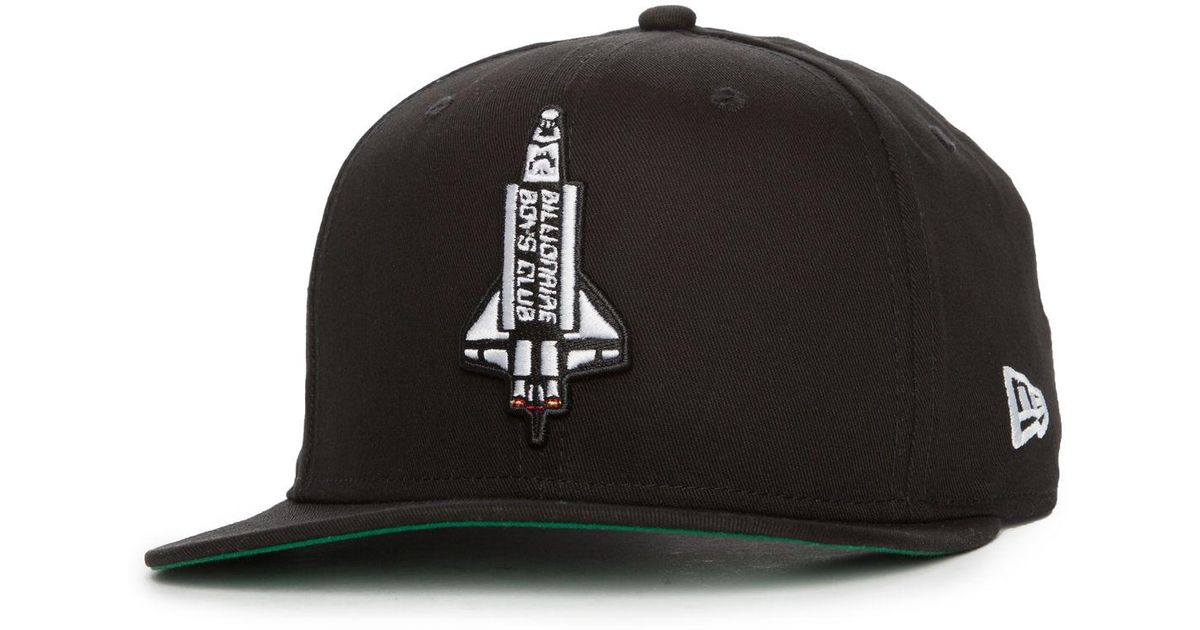 ... greece lyst billionaire boys club ice cream the booster snapback hat in  black for men b4dab 2adbe81112fd
