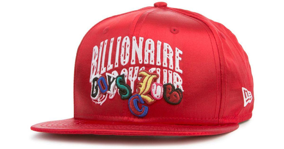 99c58f82f7b20 ... australia lyst billionaire boys club ice cream the arch snapback hat in  red for men 245f7 ...