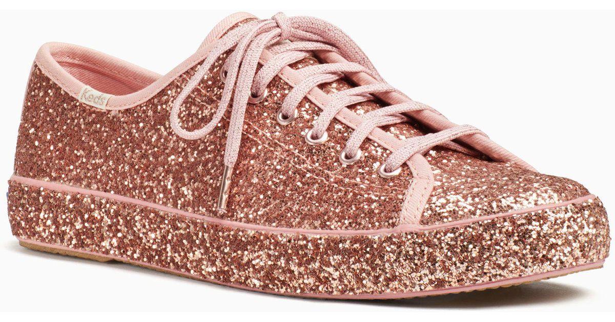 women's keds x kate spade new york kickstart glitter