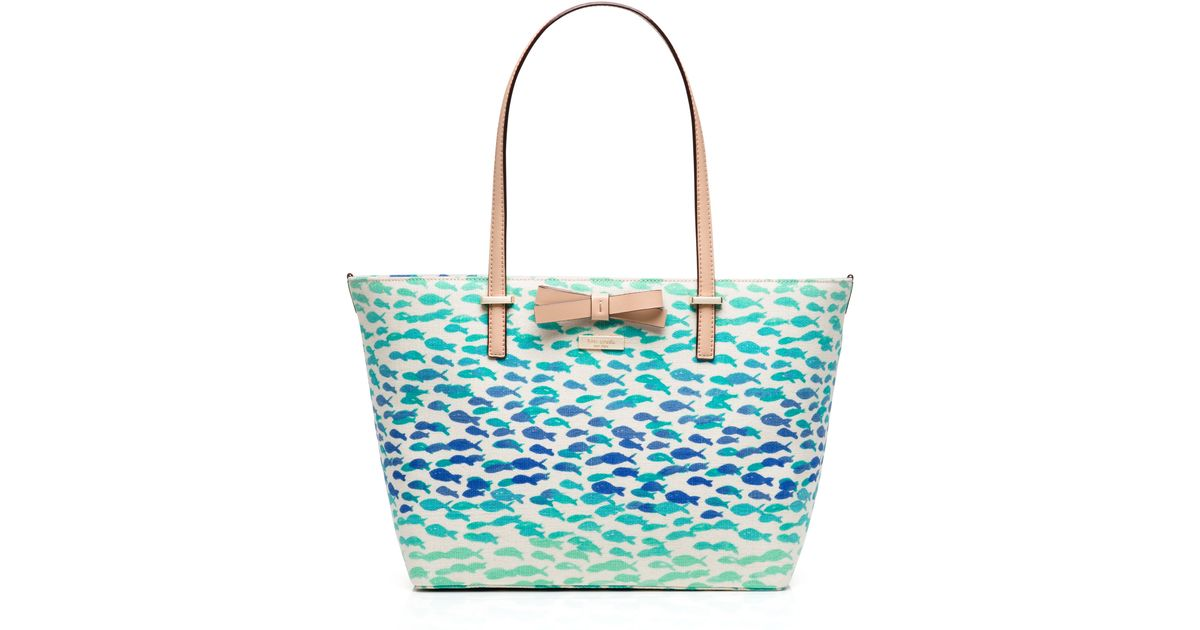 Kate spade new york south poplar street francis in blue lyst for Plenty of fish browse