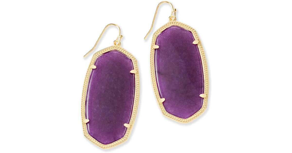 mother pearl earrings jade clip on purple rectangle of and