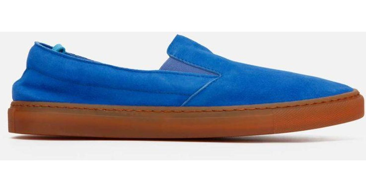 93aa66d2f53 Kenneth Cole Blue Men's Kam Lite Suede Slip-on Sneaker for men