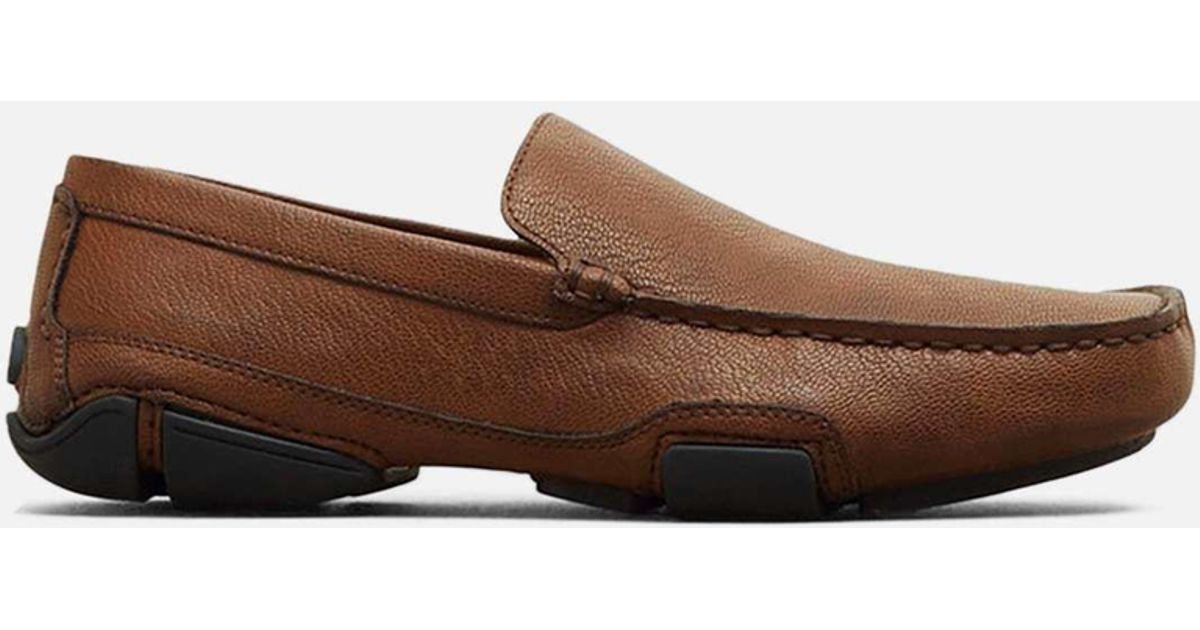 d2065f6a9d4 Lyst - Kenneth Cole Reaction World Champion Moc Toe Driving Loafer in Brown  for Men
