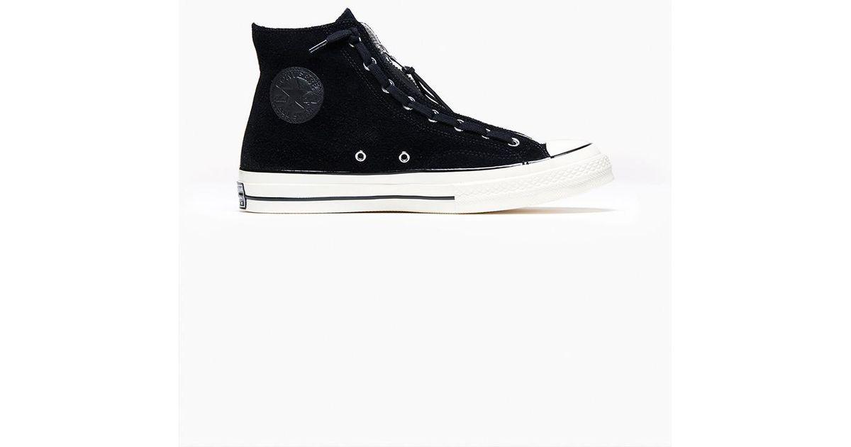 f7d7e7f324e6 Lyst - Converse Ct All Star Hi Zip Black in Black