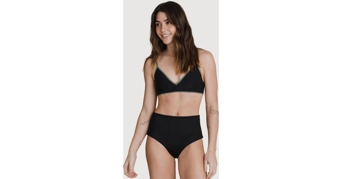 bd02bfa53cdeb Kit and Ace Kits High Rise Swim Bottoms in Black - Lyst
