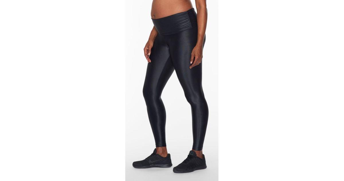 1dcc010c7cd7f Koral Lustrous Maternity Legging in Black - Lyst