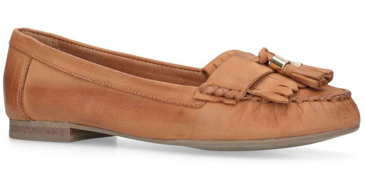 b6f0d08d5cb Carvela Kurt Geiger  mocking  Loafers in Brown - Lyst