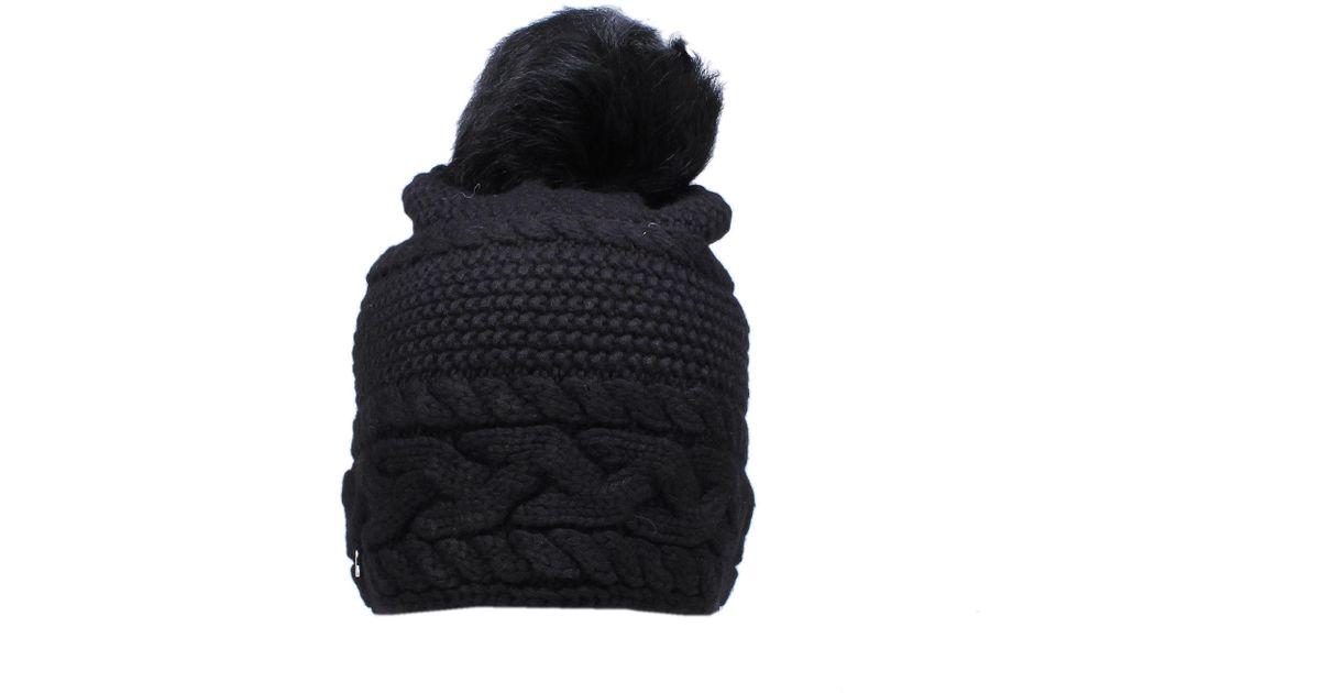 310232e9d07da UGG Cable Beanie Toscana In Black in Black - Lyst