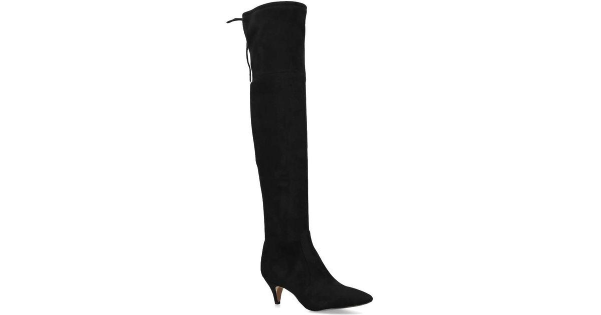 a9ea5de94f89d Sam Edelman Kristie High Leg Boot in Black - Lyst