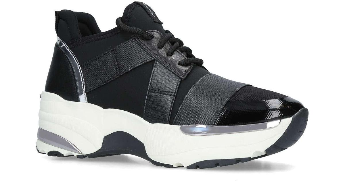 a2717e8ecee Carvela Kurt Geiger Lauryn Runner Style Trainers in Black - Save 50% - Lyst
