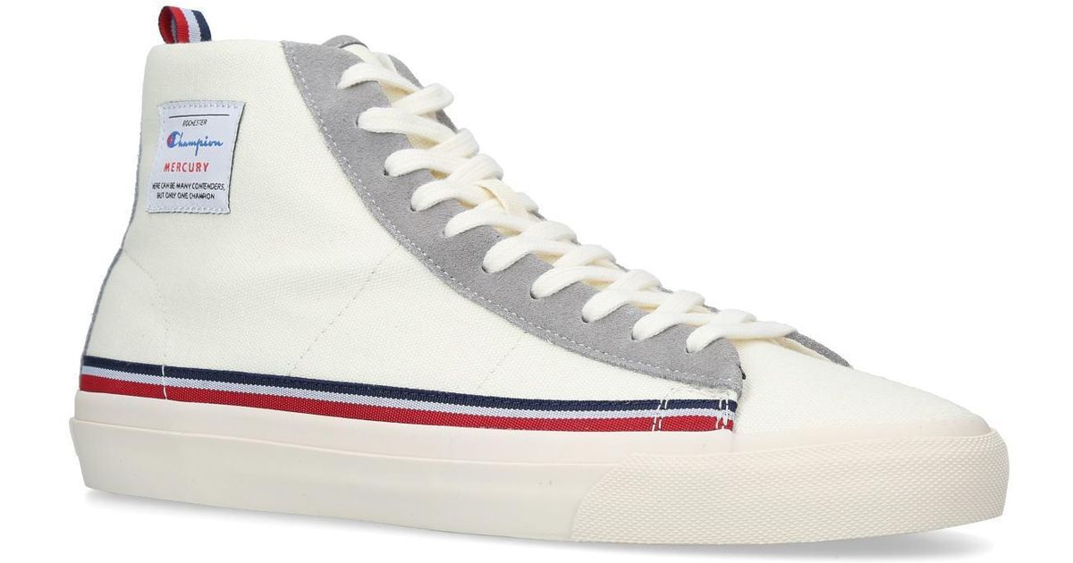 29fd4cb2b7d1e Champion Mercury Mid Snkr in White for Men - Save 76% - Lyst