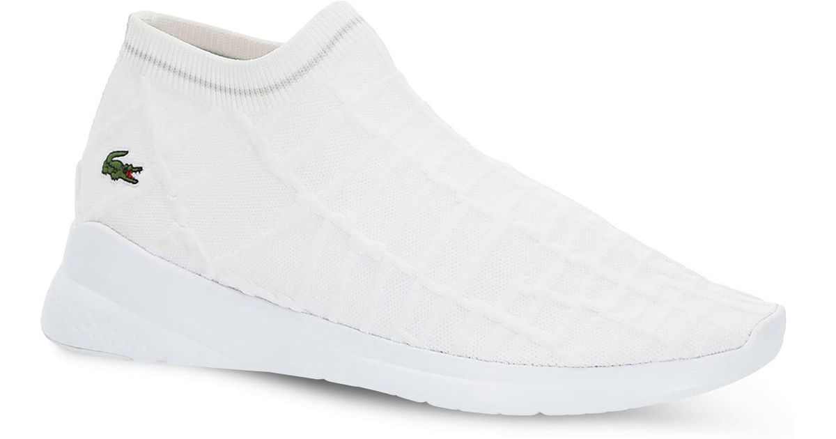 Lacoste Lt Fit Sock Sneakers With Green