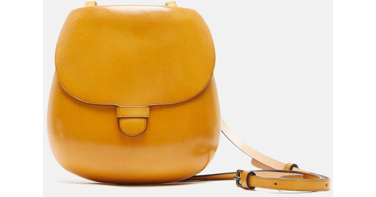 Lemaire Cartridge Bag in Yellow - Lyst