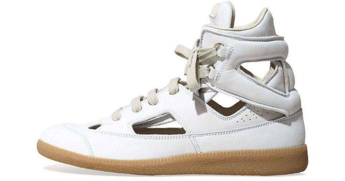 Maison Margiela Cut-out Sneaker - Lyst