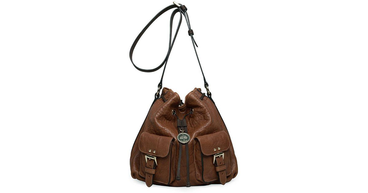 Mulberry - Brown Leah Messenger - Lyst 254636b1268bb