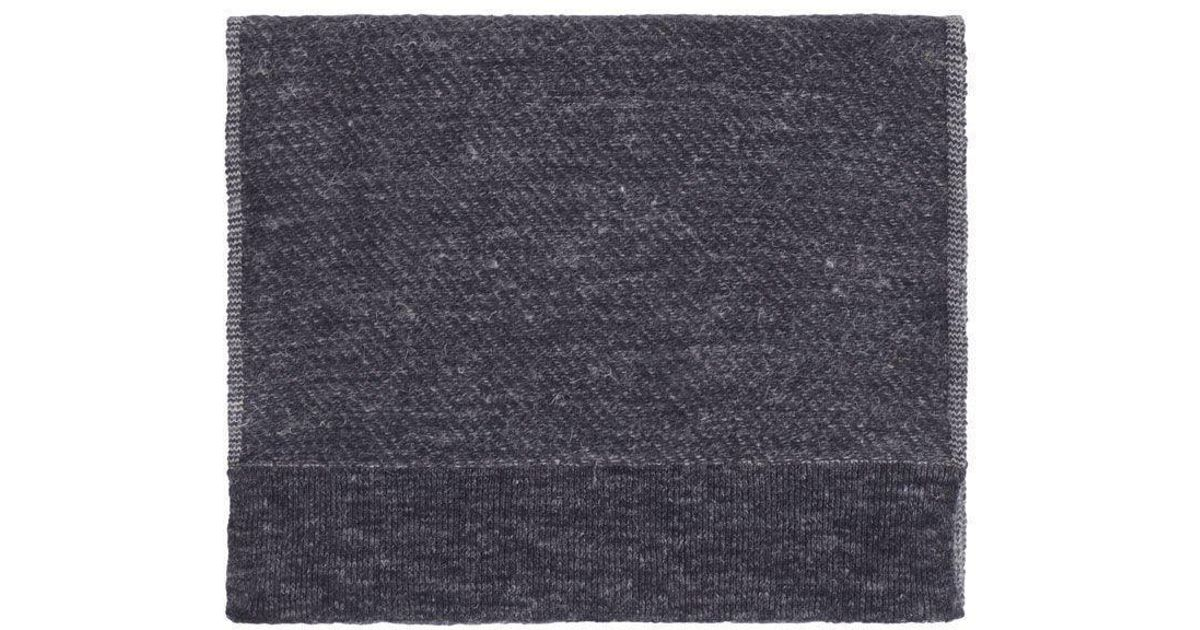 55be429a169 Maison Margiela Knit Scarf in Blue for Men - Lyst