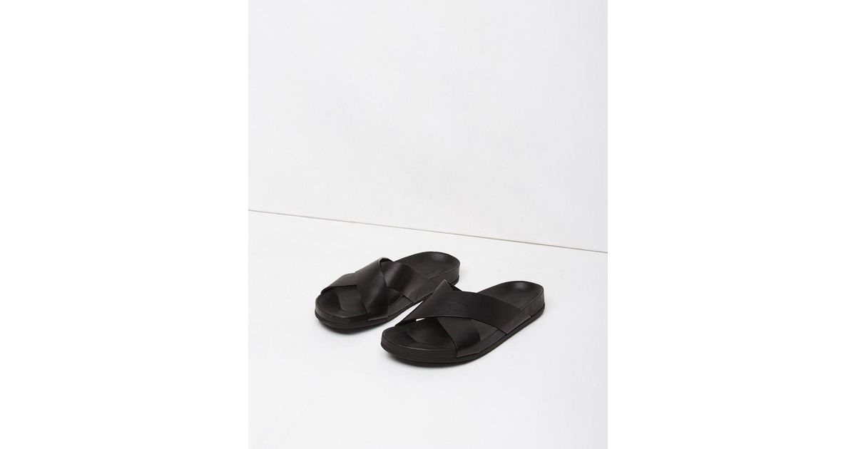 Leather Sandals - Black Common Projects r2cQjQhYt