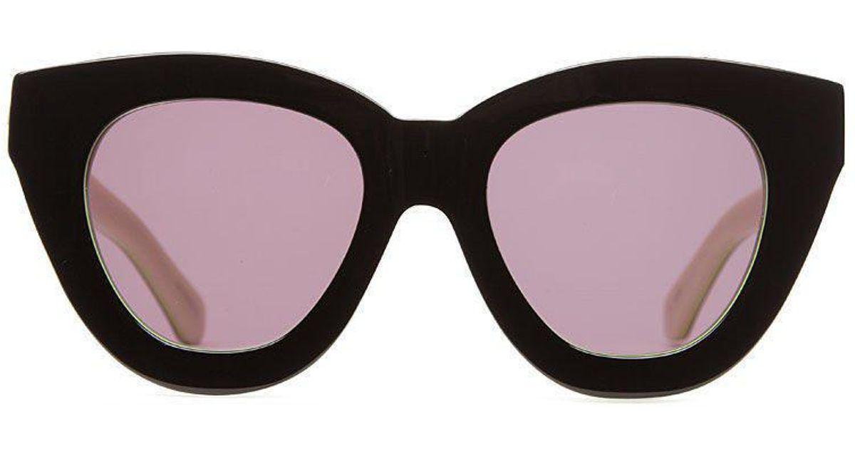 ab35db1898 Lyst - Karen Walker Anytime Sunglasses in Black