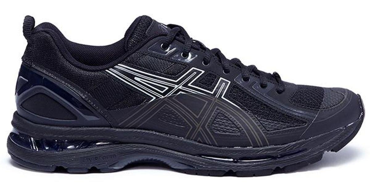 0c23cc1ef39 Kiko Kostadinov Black X Asics 'gel-burz 1' Sneakers for men