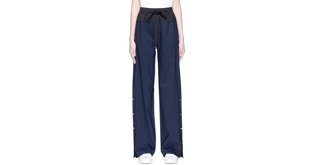 High-Waisted Wool-Blend Cropped Trousers Cedric Charlier l2RhBd