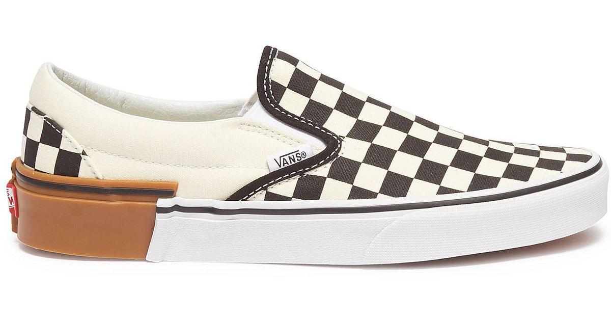 Vans Canvas Classic Slip-on (gum Block