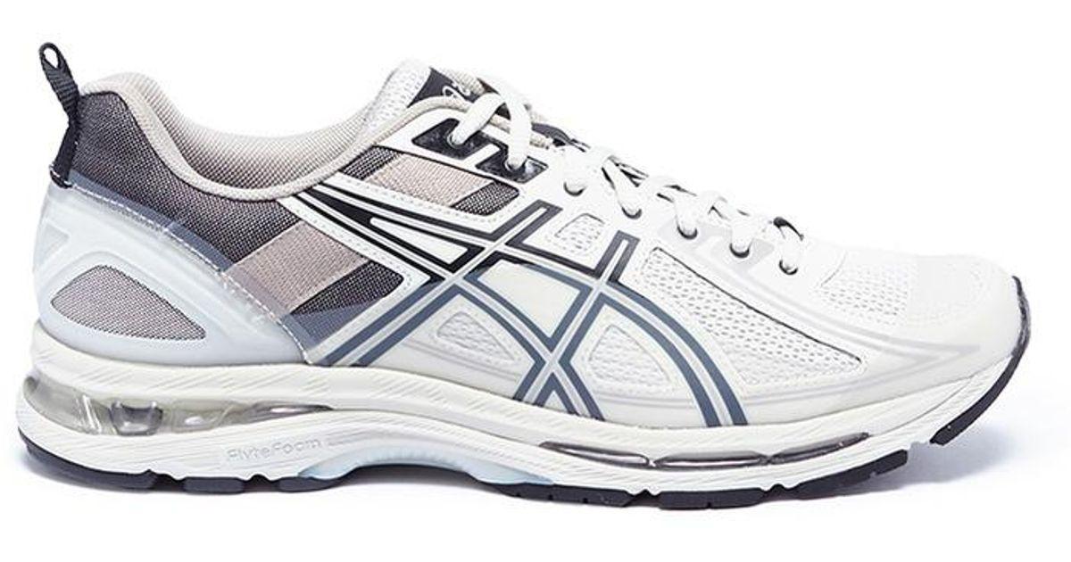 c7e1f82a5a2 Kiko Kostadinov Gray X Asics 'gel-burz 1' Sneakers for men