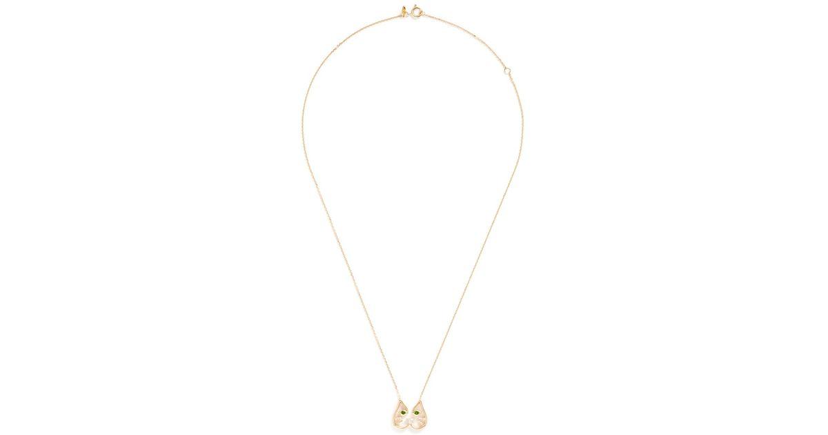 Ruifier Cupid Pendant Necklace in Metallics LEqDjZ7Q