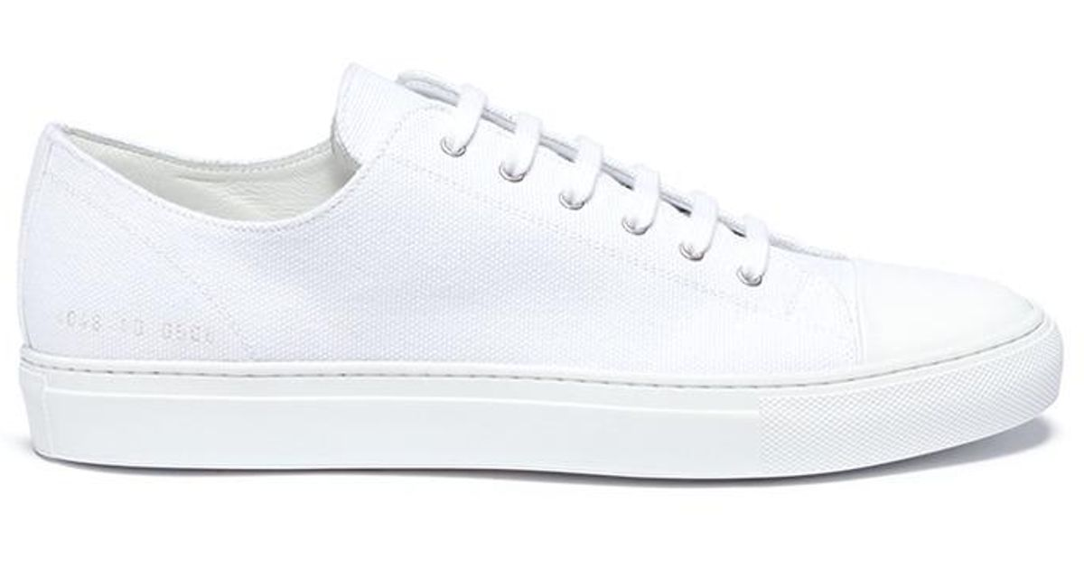 Common Projects 'tournament' Canvas