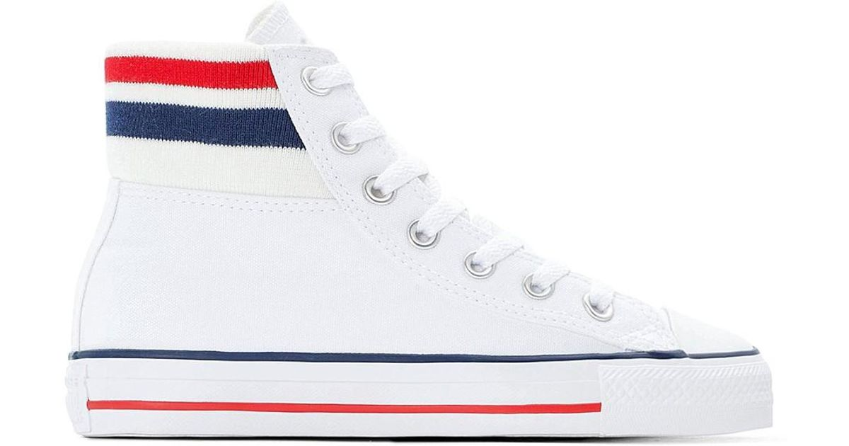 Zapatillas de caña alta CTAS Hi 70s meets 80s Converse de color White