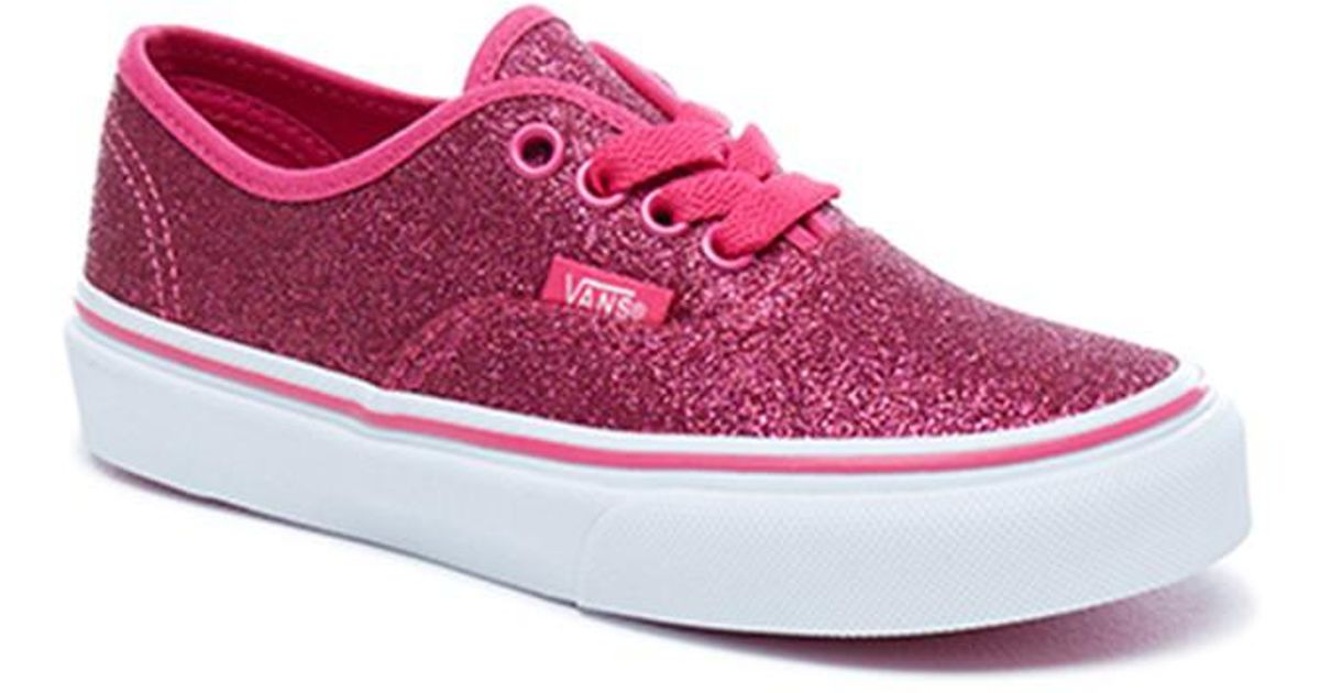41b30d09ea4255 Lyst - Vans Uy Authentic Trainers in Pink