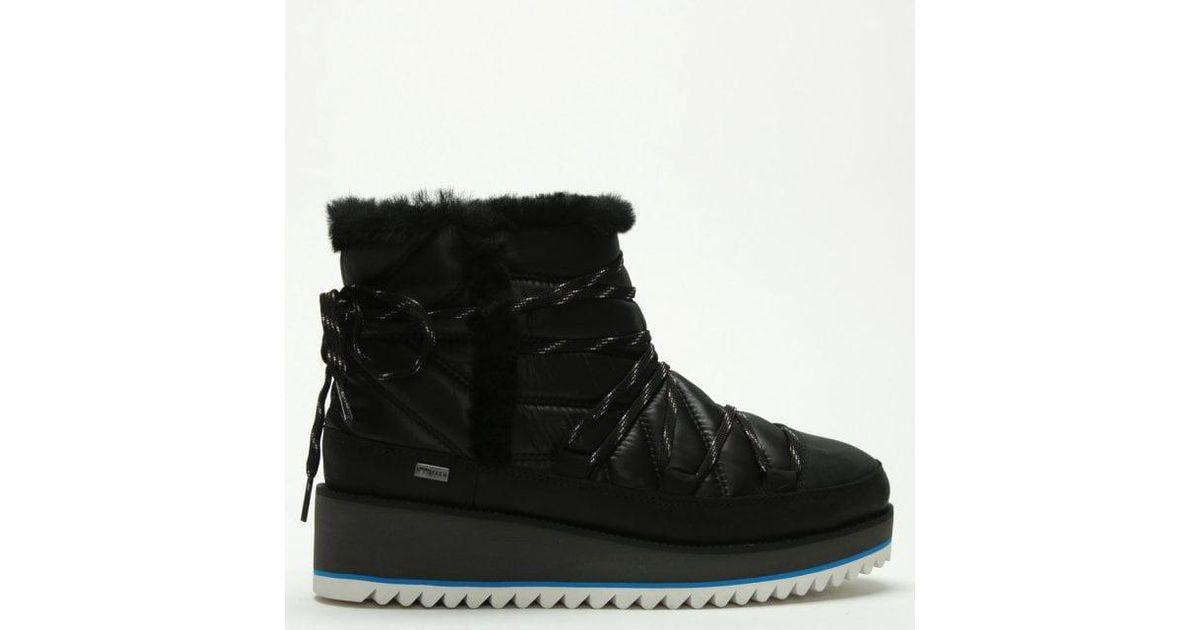 06f98ff7f7d Ugg Cayden Black Nylon Ankle Boots
