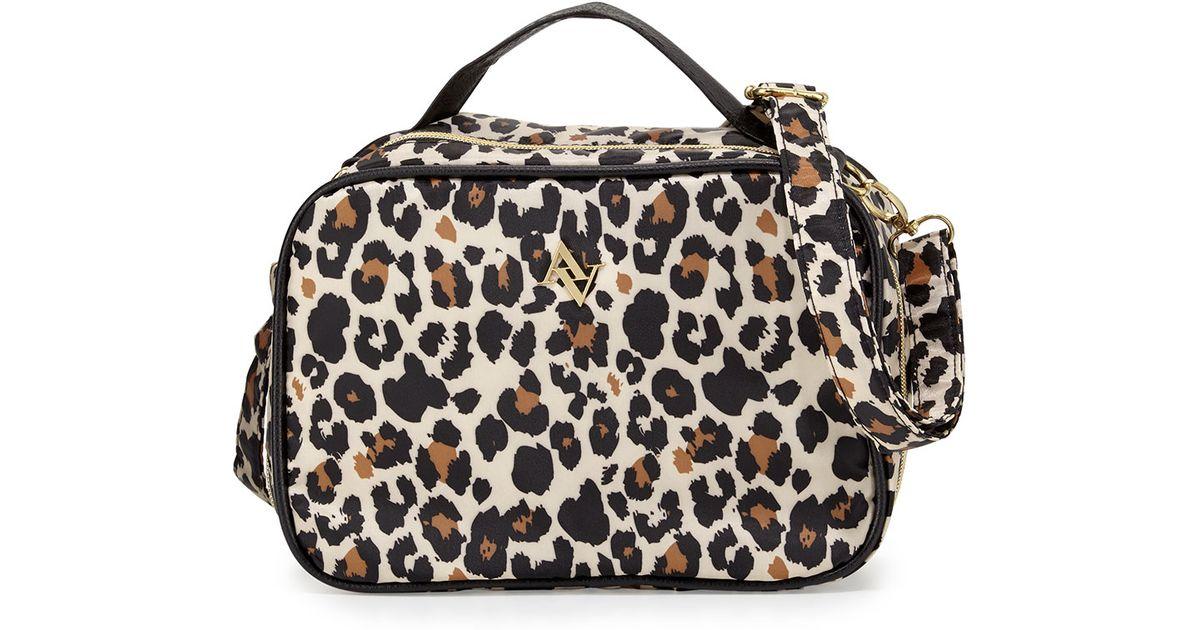 4cc6973a5016 Adrienne Vittadini Multicolor Leopard-print Polyester Lunch Bag