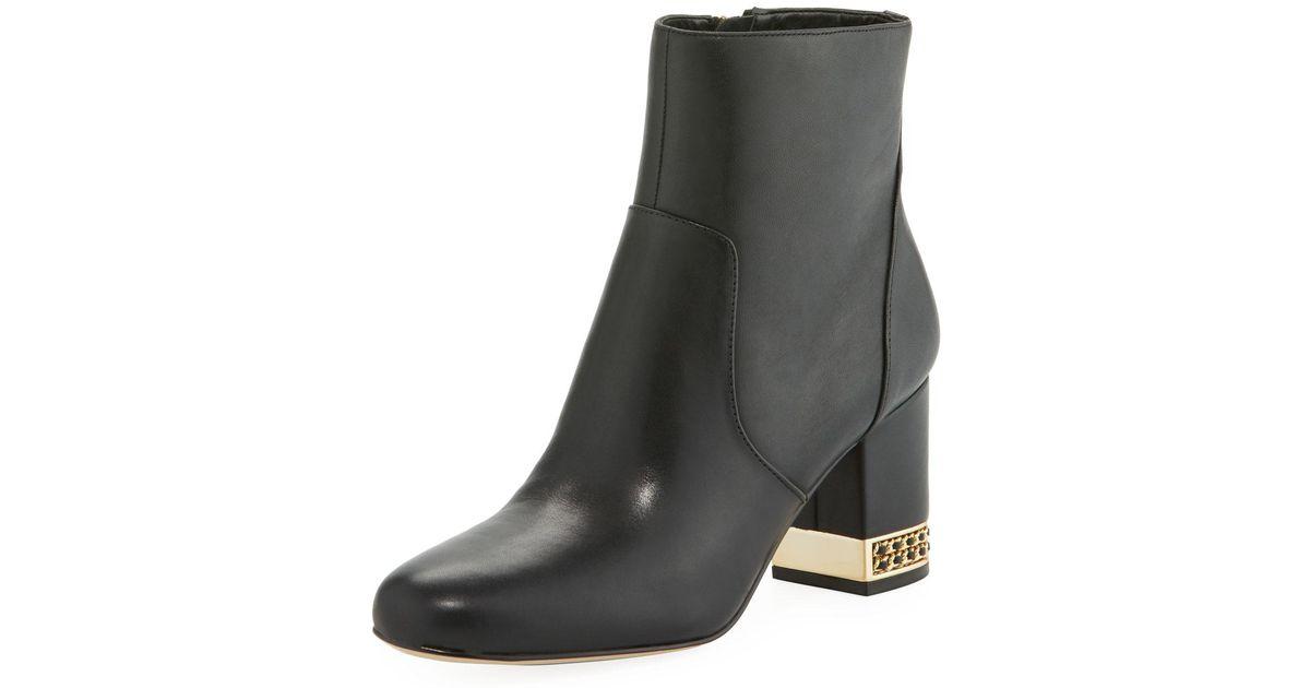 karl lagerfeld black boots a98296