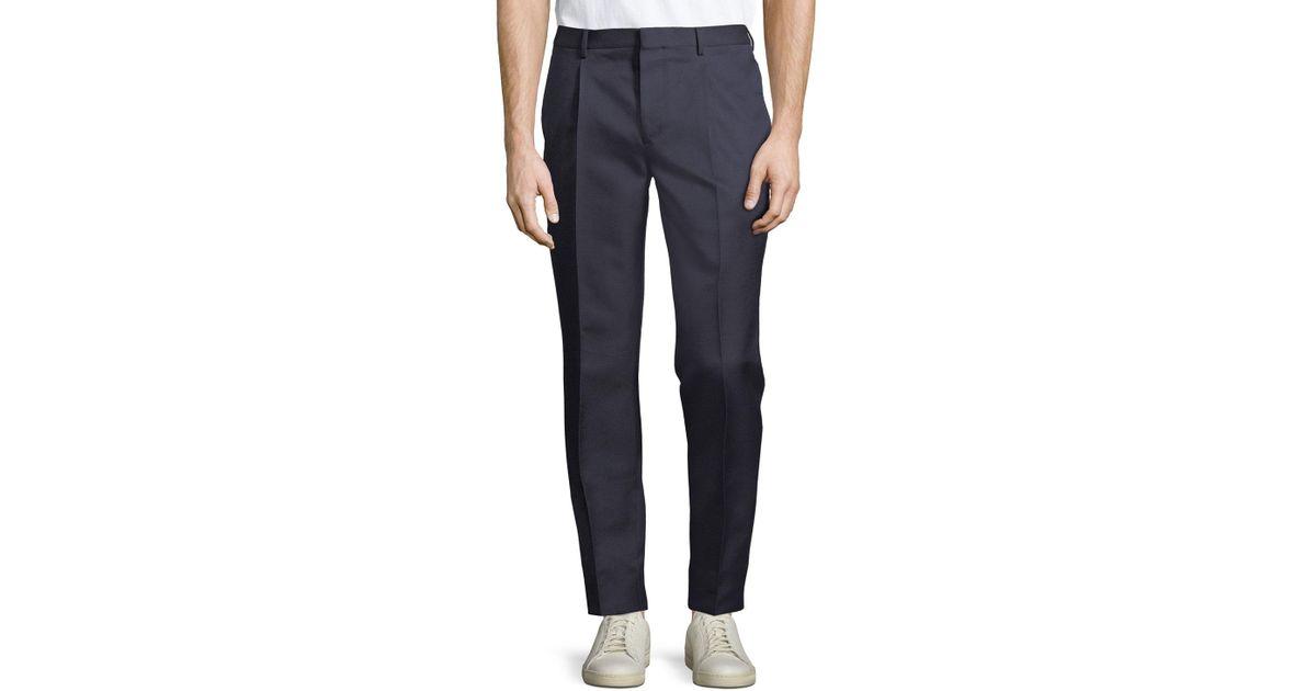 c7078ad0e0cb Lyst - Valentino Men s Formal Wool-silk Trouser Pants in Blue for Men