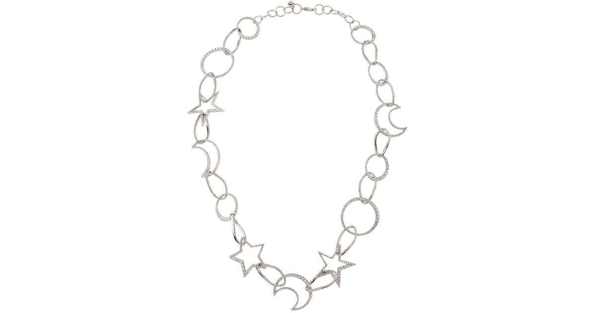 Lydell Nyc Single-Strand Cubic Zirconia Celestial Necklace KOQ9Ia