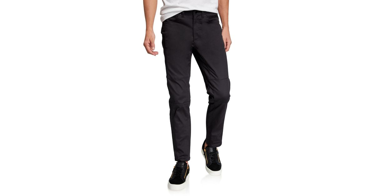 M Black Karl Lagerfeld Mens Pintuck Textured Trouser