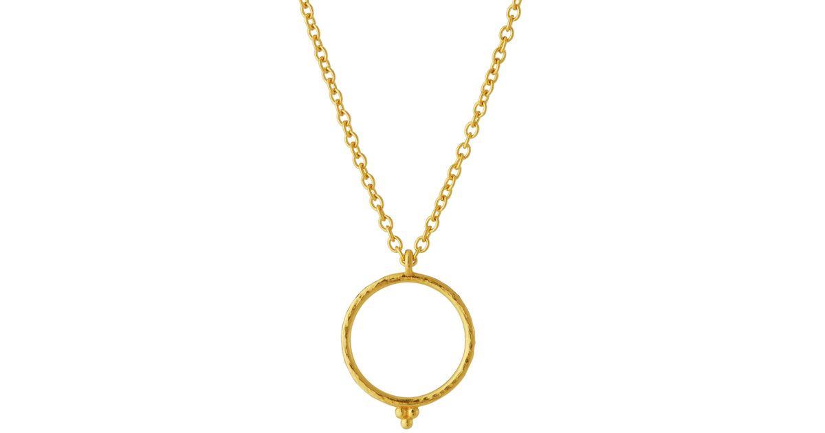 Gurhan Captiva Open Pendant Necklace w/ Ruby Drop wb19UQoA