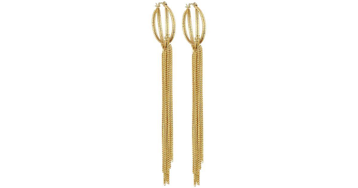Panacea Golden Hoop Earrings byyIVLdqz