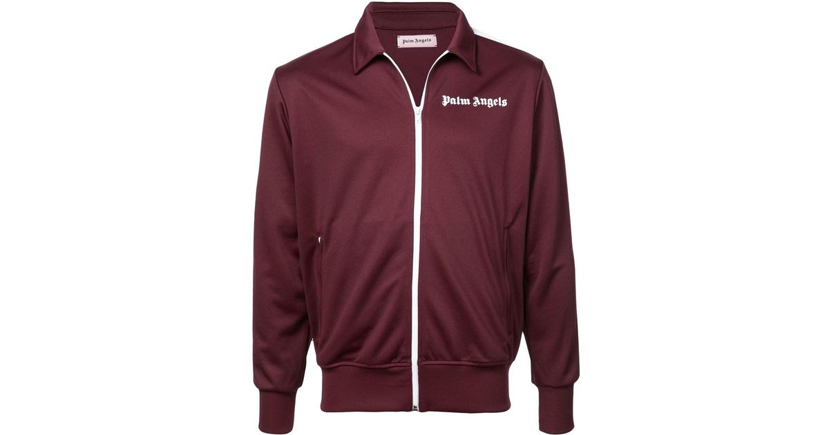 968eadc9 Palm Angels Track Jacket Bordeaux in Red for Men - Lyst