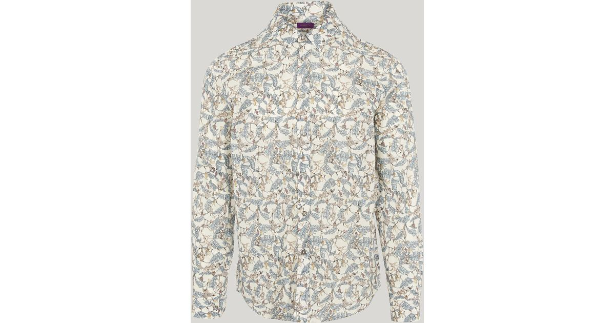 4edf1a28c98 Liberty Tree Tops Tana Lawn Cotton Long-sleeved Lasenby Shirt in White for  Men - Lyst