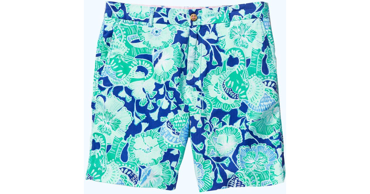e78991066f Lilly Pulitzer Mens Beaumont Short in Green for Men - Lyst