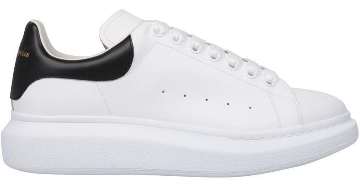 Alexander McQueen - White Sneakers Pelle Con Plateau for Men - Lyst