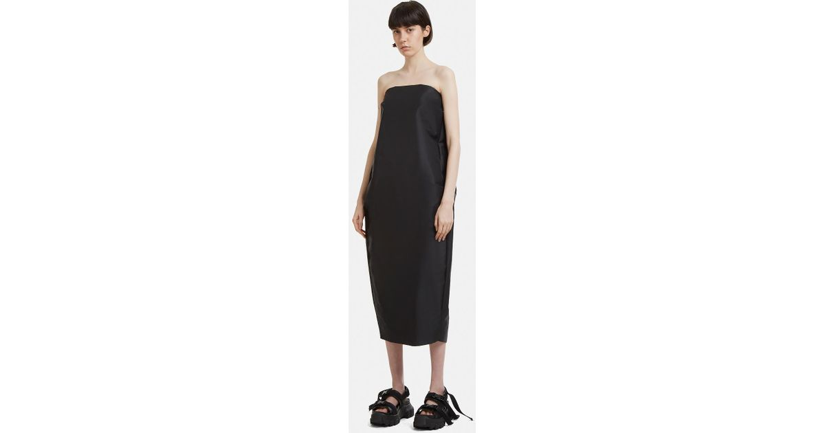 Short Pistil Strapless Dress Rick Owens R7uIn6KOMM