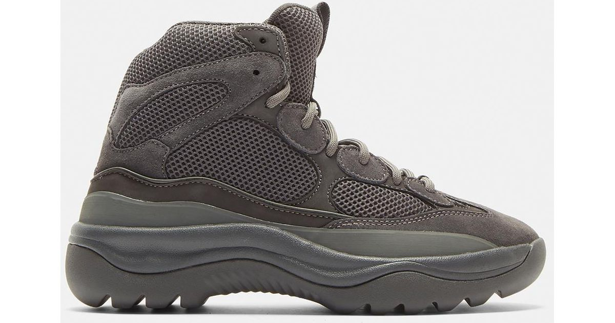 10750f19c44 Lyst - Yeezy Mesh Desert Boots In Grey in Gray for Men
