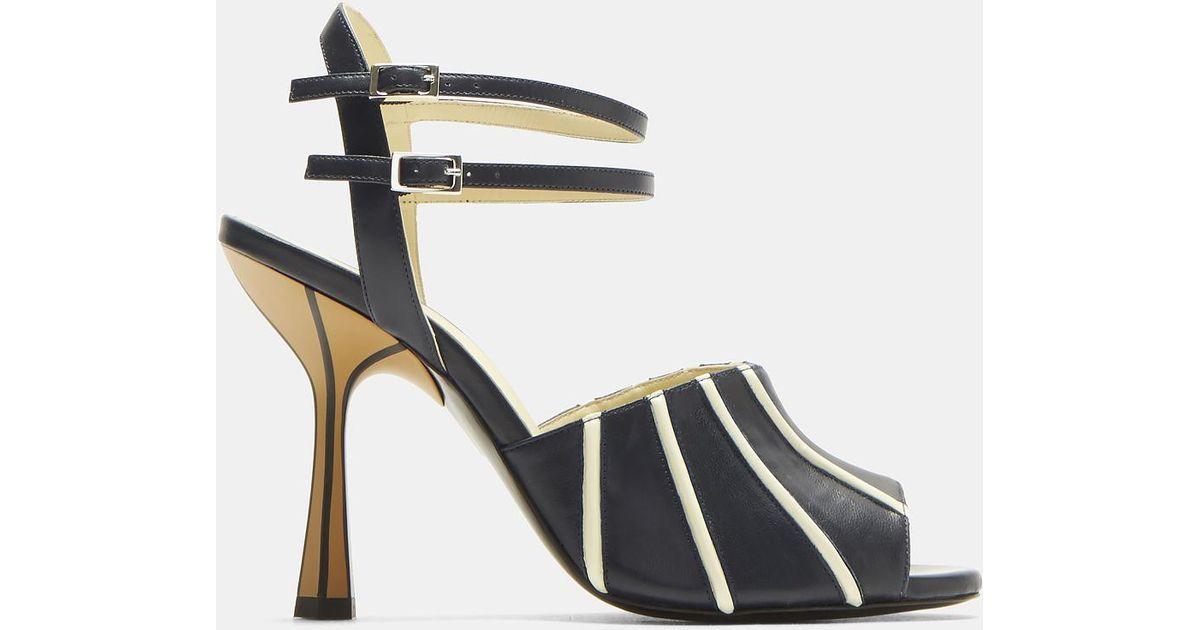Marni Striped Heels lhm99rsl7m